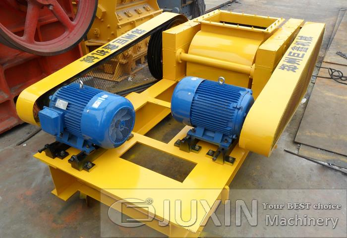 Double Teeth Roll Crusher