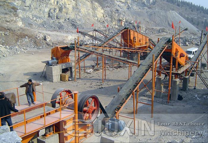 200t/h Stone Making Production Line
